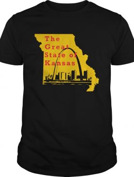 The Great State of Kansas Trump shirt