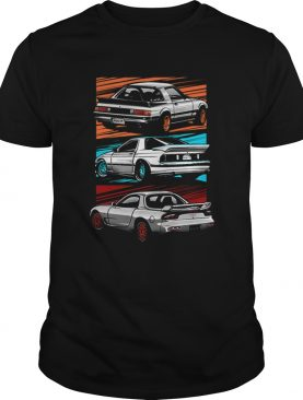 The Mazda RX7 Generations shirt