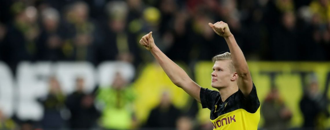 Teen sensation Erling Braut Haaland stuns PSG on Champions League debut for Borussia Dortmund