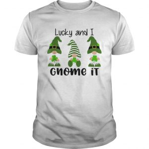 3 Irish Gnomes Leprechauns Shamrocks St Patricks Day  Unisex