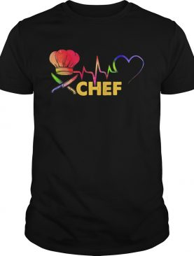Chef heartbeat shirt