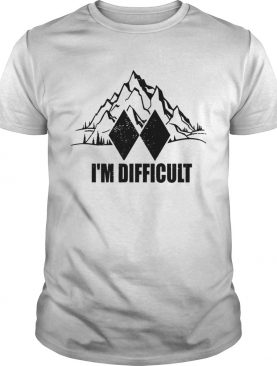Im Difficult Skiing shirt