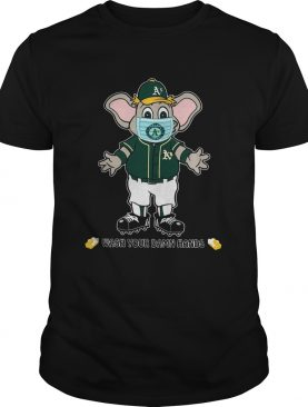 Oakland Athletics Wash Your Damn Hands shirt