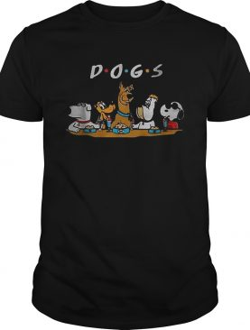 ScoobyDoo Snoopy Dogs Friends shirt