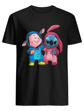 Baby Piglet and Stitch shirt