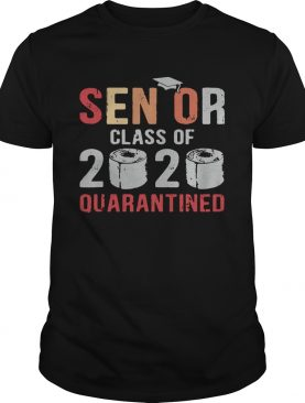 Class Of 2020 Quarantined Seniors Flu shirt