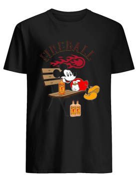 Mickey Mouse Drink Fireball shirt
