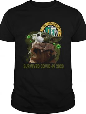 Xavier University Baby Yoda Survived Covid19 2020 shirt