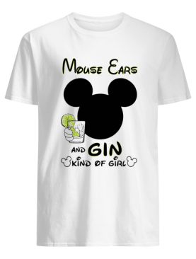 Mickey Mouse Cars And Gin Kind Of Girl shirt