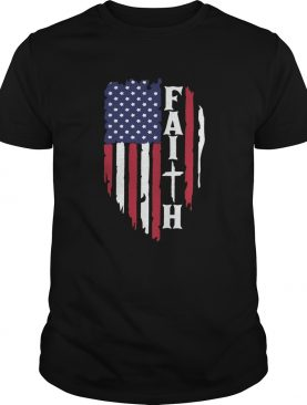 American Flag Faith shirt