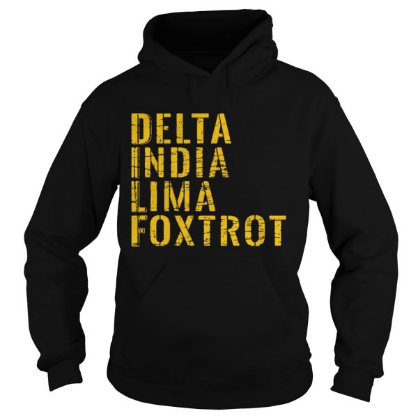 Delta India Lima Foxtrot  Hoodie
