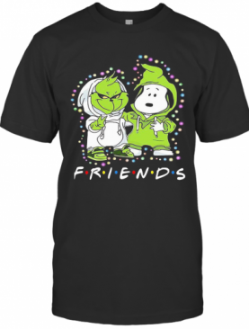 Friends Grinch And Snoopy T-Shirt