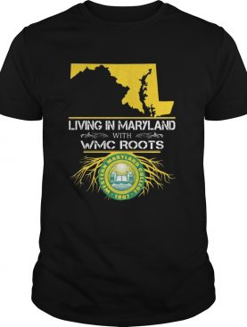 Living in maryland with WMC roots McDaniel College shirt
