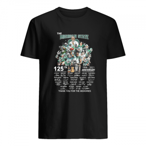 The Michigan state spartans football 125th anniversary 1896 2021 thank you for the memories signatures  Classic Men's T-shirt