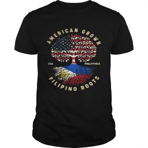 American Grown Filipino Roots  Unisex