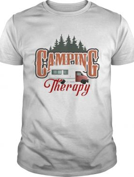 Camping Therapy Truck Tree shirt