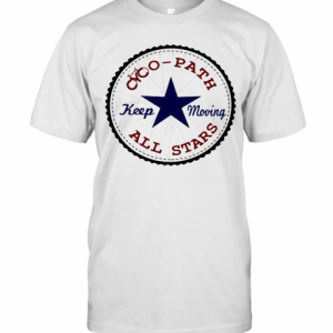 Cyc Path All Stars Keep Moving Star T-Shirt Classic Men's T-shirt
