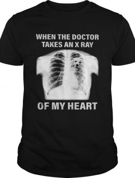 Golden retriever when the doctor takes an x ray of my heart shirt