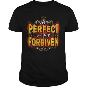 Not Perfect Just Forgiven Nail  Unisex
