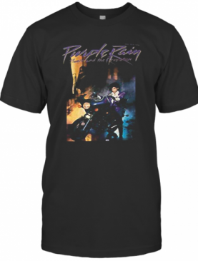 Purple Rain Prince And The Revolution Motorcycle T-Shirt