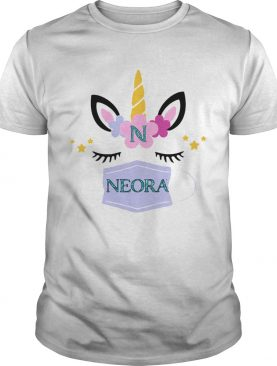 Unicorn Eyelash Neora Flower shirt