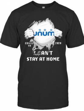 Unum I Can'T Stay At Home Covid 19 2020 Superman T-Shirt