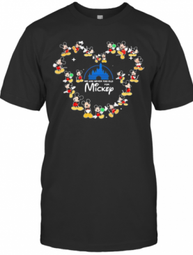 We Are Never Too Old For Mickey Heart T-Shirt