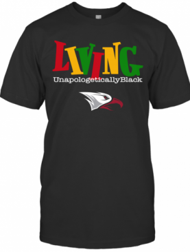 Living Unapologetically Black NNCU Eagles T-Shirt