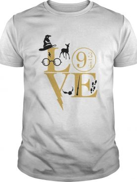 Love harry potter movie shirt