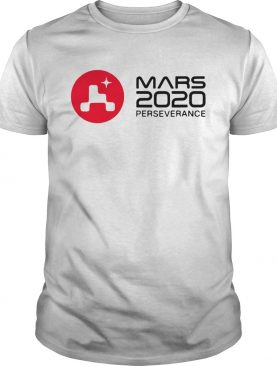 Mars 2020 perseverance rover launch day commemorative shirt