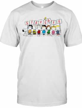 Snoopy And Friends Stay Safe T-Shirt