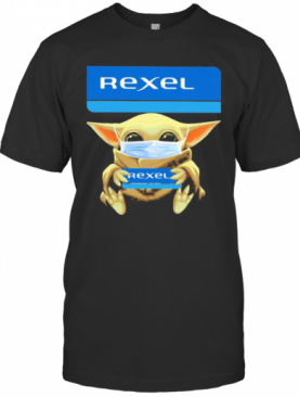 Star Wars Baby Yoda Mask Hug Rexel T-Shirt