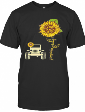 Sunflower Happiness Is Being A Girl T-Shirt