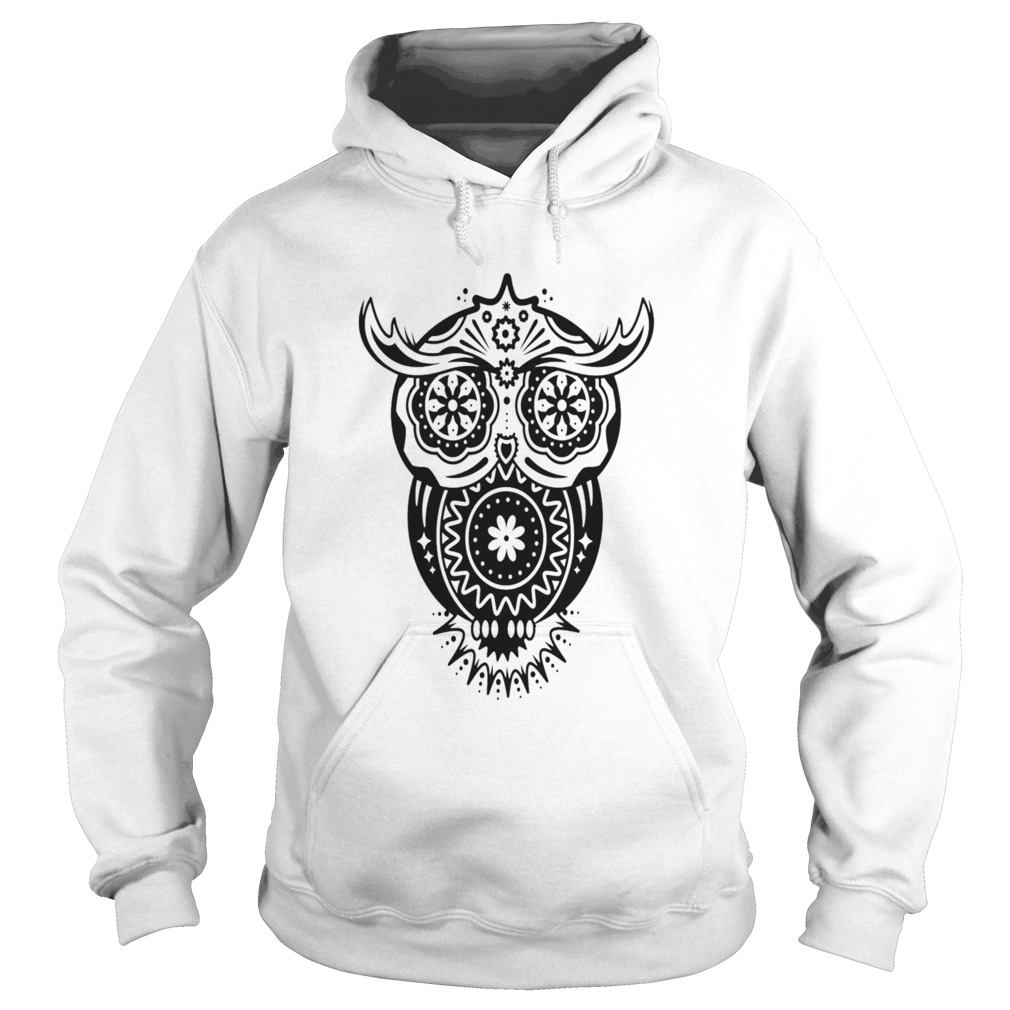 Different Decorations In The Style Of The Mexican Sugar Skulls  Hoodie