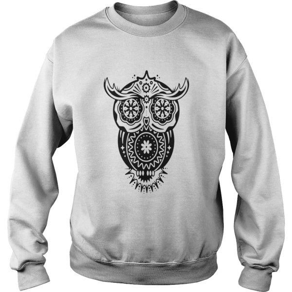 Different Decorations In The Style Of The Mexican Sugar Skulls  Sweatshirt