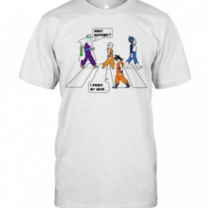 Dragon Ball Abbey Road What Happened I Forgot My Mask T-Shirt Classic Men's T-shirt
