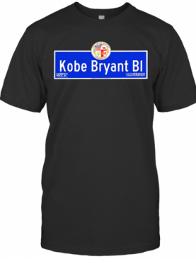 Kobe Bryant Bi City Los Angeles Founded 1781 T-Shirt