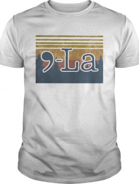 La mountain vintage retro shirt
