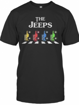 The Car Color Crossing The Line T-Shirt