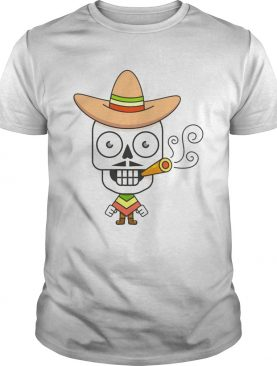 The Man Sugar Skull Day Dead Dia De Muertos shirt