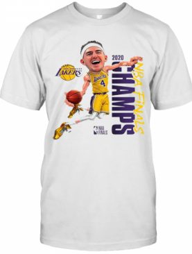 Alex Caruso Los Angeles Lakers Champions 2020 T-Shirt