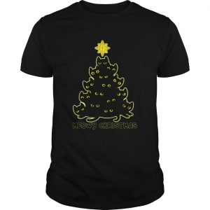 Black Cat Meowy Christmas  Unisex