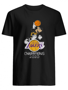 Mickey Mouse Los Angeles Lakers Champions 2020