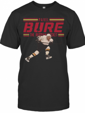 Pavel Bure The Russian Rocket Play T-Shirt