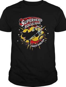 Superhero Rescue Dogs Takis Shelter Featuring Black shirt