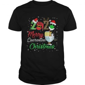 2020 Merry Quarantine Christmas  Unisex