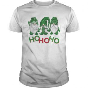 3 wise gnomes christmas pajamas holiday ho ho ho 2020  Unisex