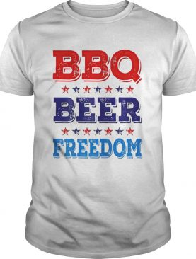 BBQ Beer And Freedom shirt