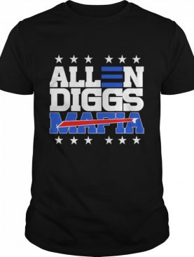 Allen Diggs 2020 Bills Mafia shirt
