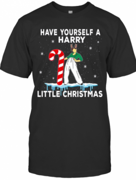 Have Yourself Harry Little Christmas Ugly T-Shirt